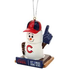 chicago cubs 2016 mlb s mores ornament