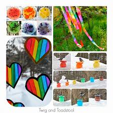 36 rainbow activities for babies toddlers preschoolers and older