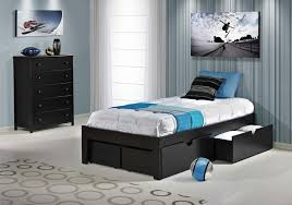 Twin Bed Frame With Drawers And Headboard by Platform Bedsimple No Headboard Solid Wood Platform Bed Shown In