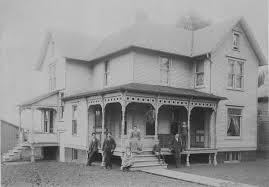 historically accurate porch queen anne house ca 1890