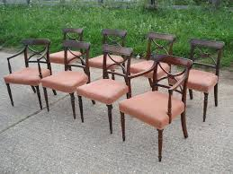 Antique Regency Dining Chairs Antique Furniture Warehouse Large Set Of Antique Dining Chairs
