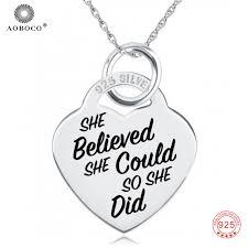 custom engraved necklace pendants custom engraved necklace 925 sterling silver inspiring message