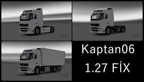volvo fh13 volvo fh13 fix 1 27 x truck mod ets2 mod