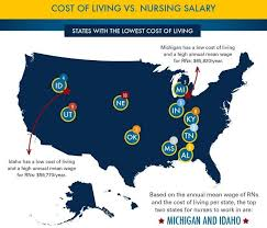 which state has the lowest cost of living why idaho may be the best place to be a nurse boise state public