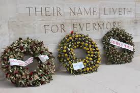 anzac memorial wreaths clausito s footprints