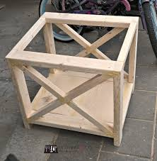 X Side Table Rustic X Side Table Archives 100 Things 2 Do