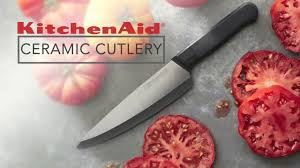 Kitchen Aid Knives Kitchenaid Ceramic Cutlery Youtube