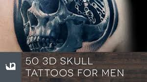 50 3d skull tattoos for