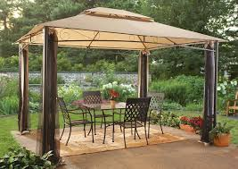 Patio Dining Set by Decorations Interesting Outdoor Canopy Design With Metal Patio