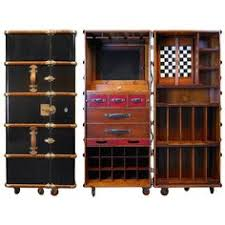 Trunk Bar Cabinet Trunk Style Mini Bar Retro Drinks Cabinet Inspired By Ernest