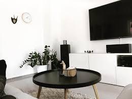 schwarz weiß wohnzimmer bilder ideen couchstyle