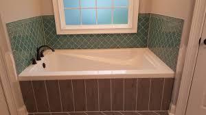 Glass Tile Bathroom Backsplash by Bathroom Remodel Select Glass Tile Border Teal Bordering Glass