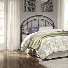 metal queen headboards you u0027ll love wayfair
