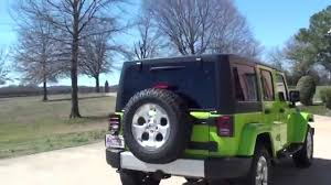 gecko green jeep hd video 2013 jeep wrangler unlimited sahara gecko green see www