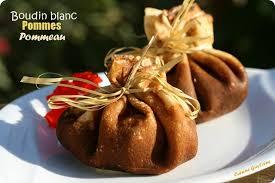 cuisiner du boudin blanc aumônière de boudin blanc aux pommes cuisine guylaine