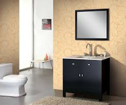 Solid Wood Bathroom Cabinet Buy 35 Espresso Solid Wood Bathroom Vanity Ag X015 On