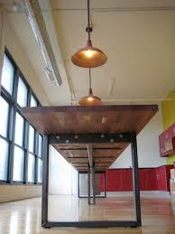 steel and wood table furniture wood and steel nkbuild