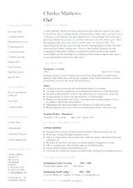 executive chef resume template resume sle for chef sle executive chef resume template