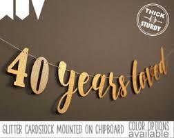 40th birthday etsy