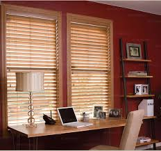 Faux Wood Blinds Custom Size Norman Window Fashions And Custom Blinds Blinds Express