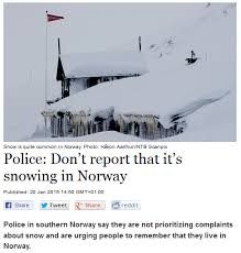 Norway Meme - norwegian police have had it up to here with winter