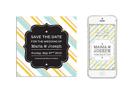 digital save the date carousel save the date digital blush gray