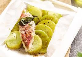 cuisiner les tomates vertes papillotes de pommes de terre tomates vertes et rouget recettes