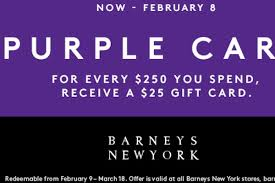 types of purple barneys new york purple card has arrived racked