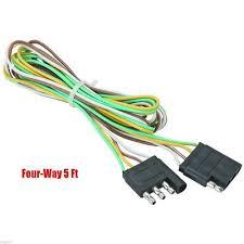 4 way flat light connector 5 trailer light wire harness 4 way wire flat connector trailer