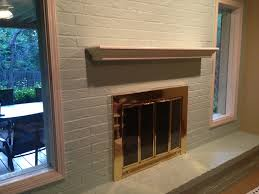 floating shelves design fireplace interior amazing brick wall