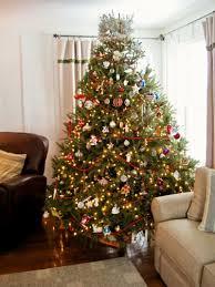 living room luxury christmas tree decorations white christmas