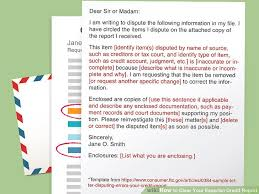 Dispute Letter For Experian how to clear your experian credit report 13 steps with pictures