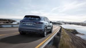 porsche family car porsche reveals new cayenne suv with fat rear tyres