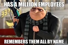 Memes Factory - the memes factory has a million employees remembers them all by name