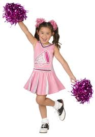 party city halloween kids pink cheerleader child costume cheerleader costume and costumes