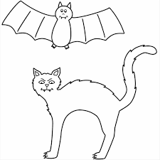 Halloween Ghost Coloring Pages by With Four Bats Coloring Page Halloween Bat And Ghost Skeleton