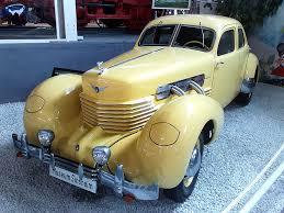 art deco 1937 cord automobile model 812 designed in 1935 by