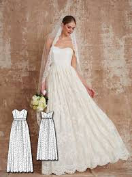 wedding dress sewing patterns modern 5 new sewing patterns for women sewing