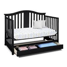 Graco Bed Rails For Convertible Cribs Graco Solano 4 In 1 Convertible Crib With Drawer Espresso