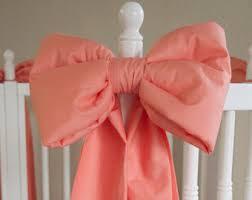 Curtain Tie Backs For Nursery Bow Curtain Tie Etsy