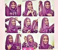 tutorial hijab pashmina tanpa dalaman ninja tutorial jilbab pashmina simple tutorial hijab pashmina modern