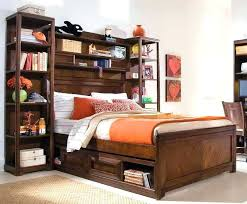 queen size bookcase headboard queen size bookcase headboard storage bed with model cool bookshelf