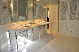 Bridge Faucet Bathroom by 6 Leg Double Washstand Cottage Bathroom Big Blue Photography