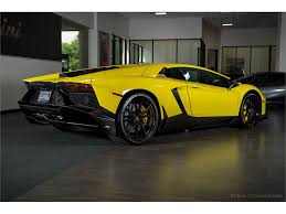 yellow lamborghini aventador for sale 2014 lamborghini aventador lp720 4 anniversary for sale gc 19019