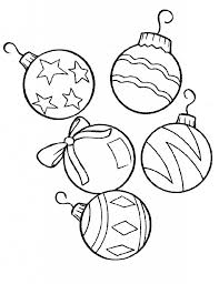 the awesome christmas ornament coloring pages pertaining to