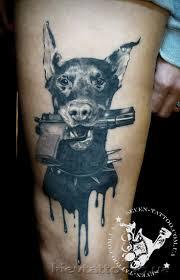 best 25 doberman tattoo ideas only on pinterest st bernese
