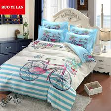 Customized Duvet Covers Aliexpress Com Buy Bicycle Youth 3d Large Printing Duvet Cover