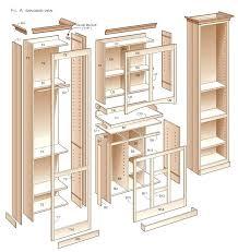 free kitchen cabinet plans kitchen pantry cabinet plans free www allaboutyouth net