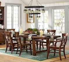Rustic Dining Room Lighting by Dining Room Christmas Expo Pottery Chic Decor Decorations