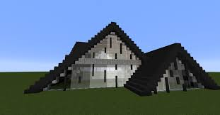 a frame houses modern a frame house creative mode minecraft java edition